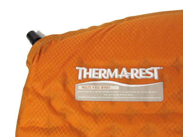 Them-A-Rest Prolite4 空気バルブ