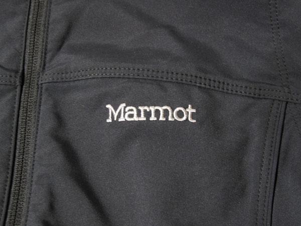Marmot summerset vest ロゴ