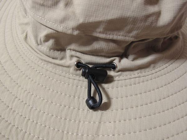 Horizon Breeze Brimmer Hat 後部ドローイングコード