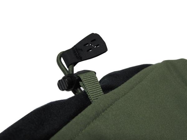 Haglofs Tropo Q Jacket ネックドローイングコード