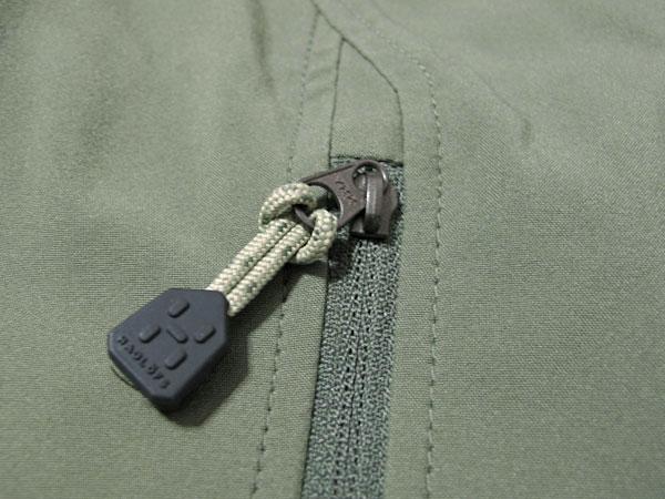 Haglofs Tropo Q Jacket ポケットジッパー