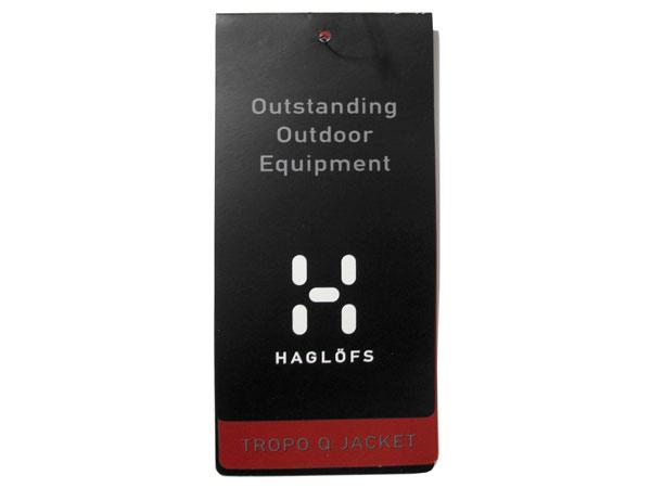 Haglofs Tropo Q Jacket タグ