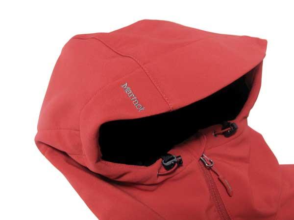 Marmot Duke Jacket フード上ロゴ