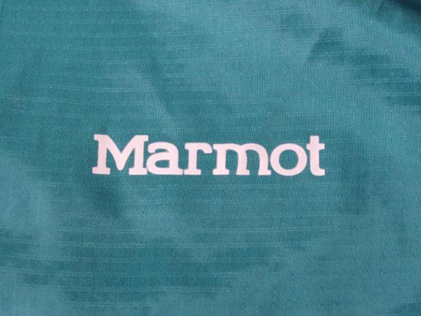 Marmot Ion Wind Hoodie Jacket ロゴ