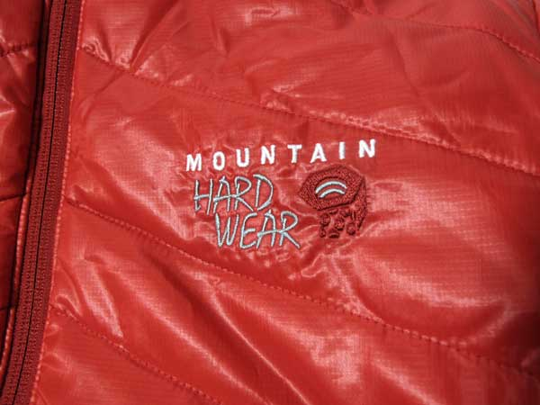 Mountain Hardwear Zonal Jackt ロゴ