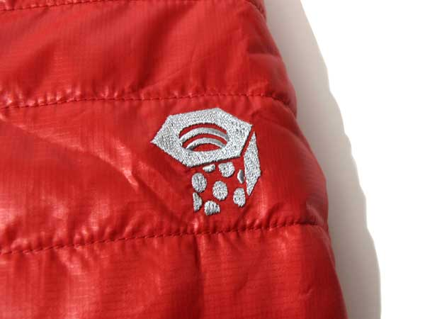 Mountain Hardwear Zonal Jackt 左肩ロゴマーク