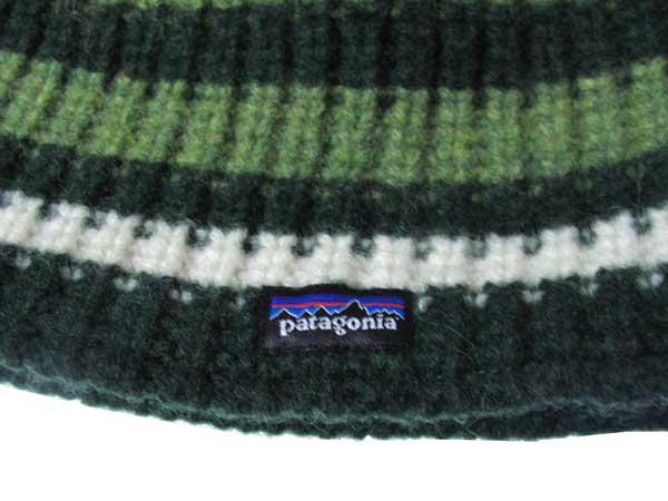 Patagonia Speedway Beanie ロゴ