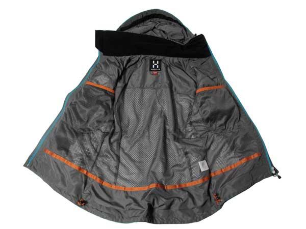 Haglofs Topo Q Gore-Tex Jacket ジャケット裏側
